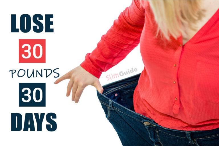 Lose 30 Pounds 30 Days